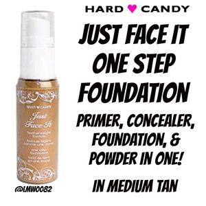 Just Face It All in One Foundation Medium Tan